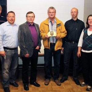 Ortwin Gohr wurde nach langjähriger Vorstandsarbeit verabschiedet