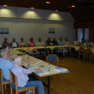 Gut besucht war die Veranstaltung der SPD Möhnesee zur Sicherung des Lörmecke-Wassers