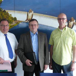 Christian Klespe, Gerhard Bruschke, Ferdi Künemund