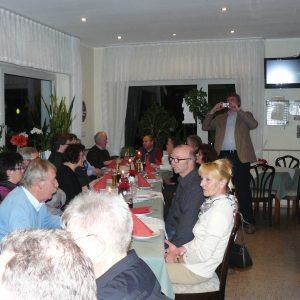 Regelmäßige Veranstaltung im Gasthaus Schulte in Theiningsen