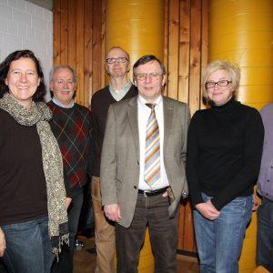 Beckers, Schlüter, Mertens, Künemund, Bruschke, Sliwa, Klespe