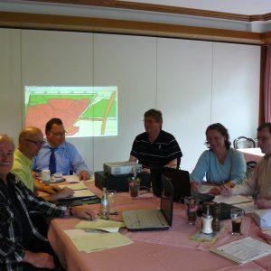 Intensive Beratungen in der SPD-Fraktion