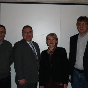 Gerhard Bruschke, Christian Klespe, Marlis Stotz, Harald Beckers