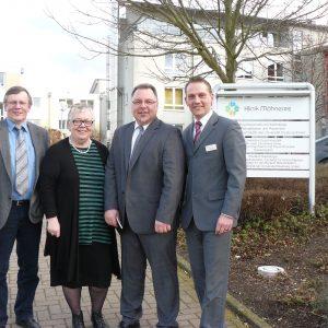 Gerhard Bruschke, Susanne Helfrich, Christian Klespe, Lars Vornheder