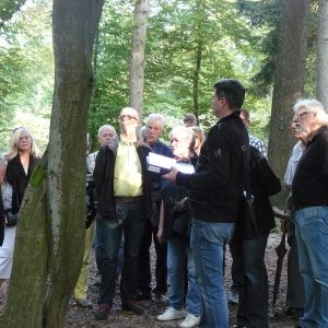 Die Fraktion besuchte den Friedwald in Möhnesee