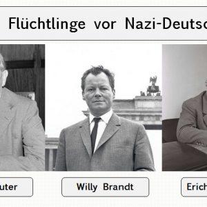 Flüchtlinge vor NAZI Deutschland